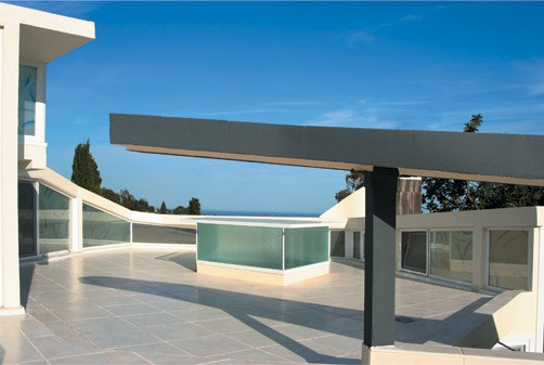 ultra modern villa roof design ideas