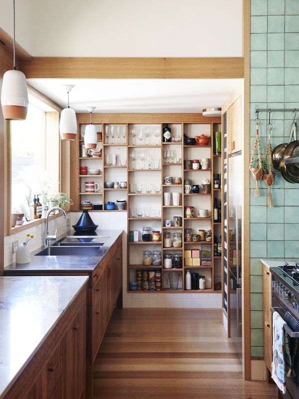 kitchen open shelves 26