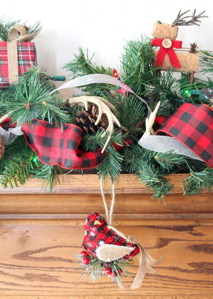 christmas fireplace garland
