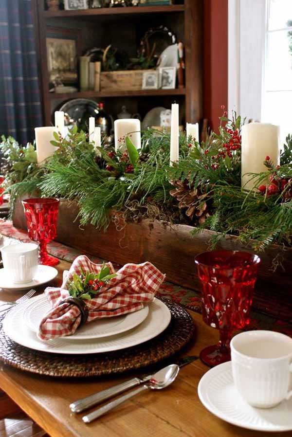 ideas-rustic-christmas-decorations-for-table