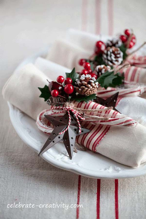 rustic-christmas-decorations-for-table
