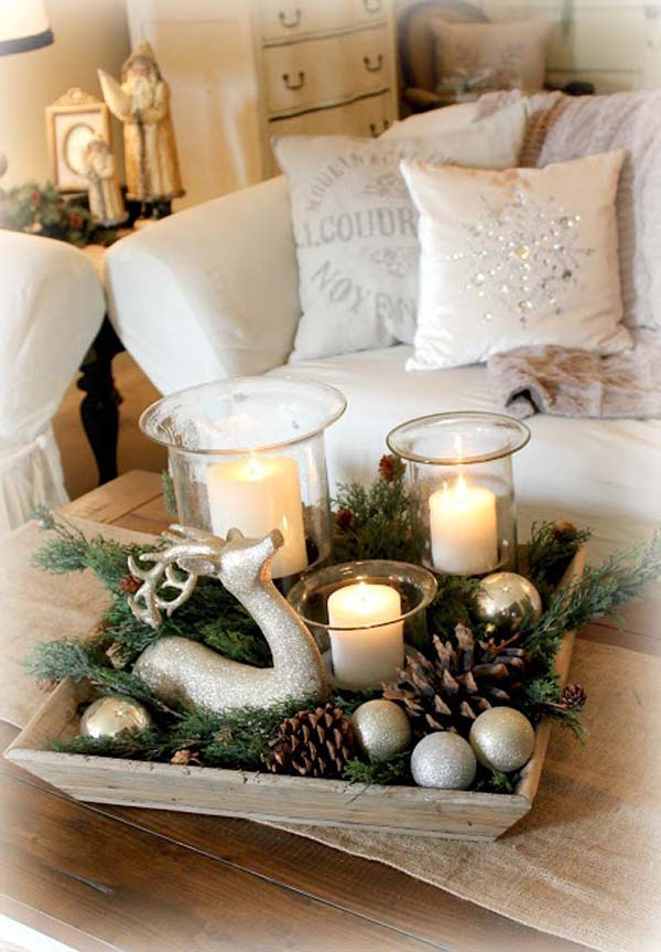 rustic-christmas-decorations-with-candles