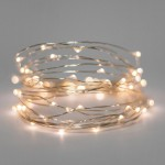 white fairy lights