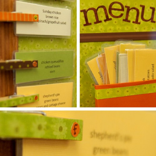 Handy Kitchen Memo Board - 150 Dollar Store Organizing Ideas and Projects for the Entire Home