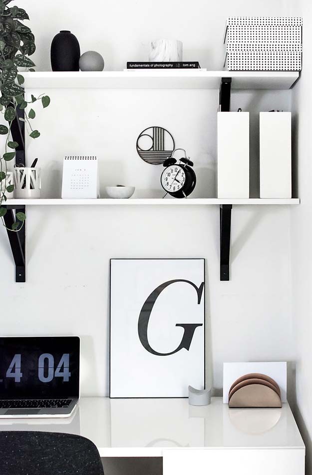DIY Room Decor Ideas in Black and White - Typography Art- Free Printable - Creative Home Decor and Room Accessories - Cheap and Easy Projects and Crafts for Wall Art, Bedding, Pillows, Rugs and Lighting - Fun Ideas and Projects for Teens, Apartments, Adutls and Teenagers http://diyprojectsforteens.com/diy-decor-black-white