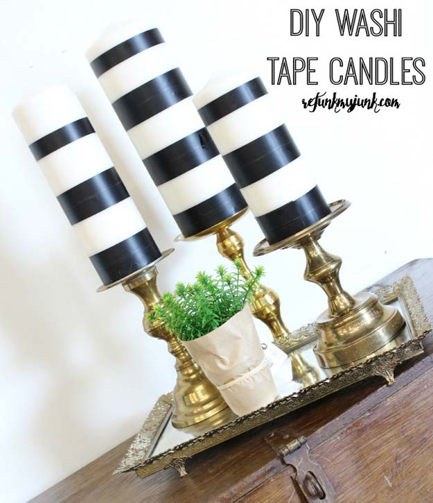 DIY Room Decor Ideas in Black and White - Black and White and Vintage Brass - Creative Home Decor and Room Accessories - Cheap and Easy Projects and Crafts for Wall Art, Bedding, Pillows, Rugs and Lighting - Fun Ideas and Projects for Teens, Apartments, Adutls and Teenagers http://diyprojectsforteens.com/diy-decor-black-white