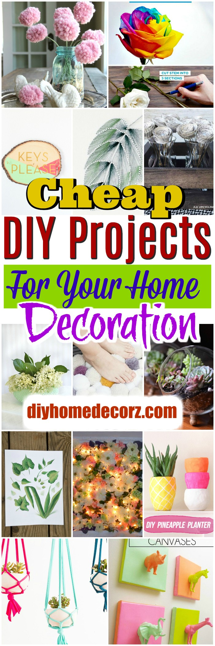 Cheap DIY Projects Cheap DIY Projects For Your Home Decoration