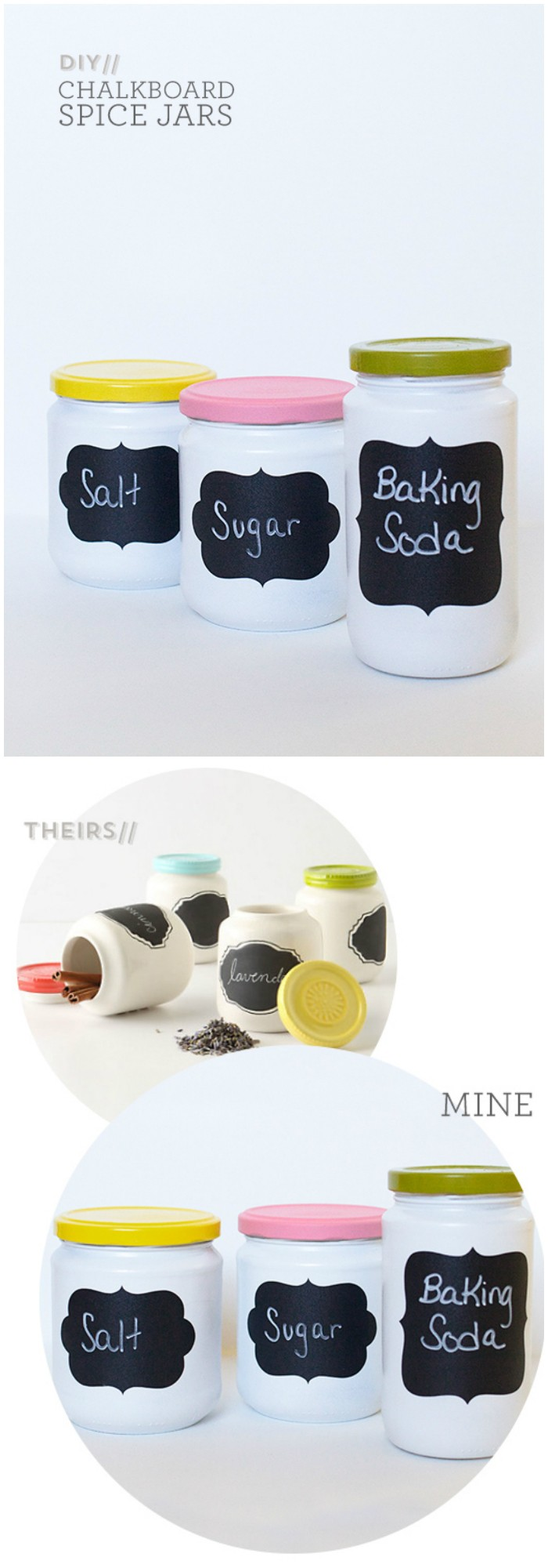 DIY Chalkboard Jars Cheap DIY Projects For Your Home Decoration
