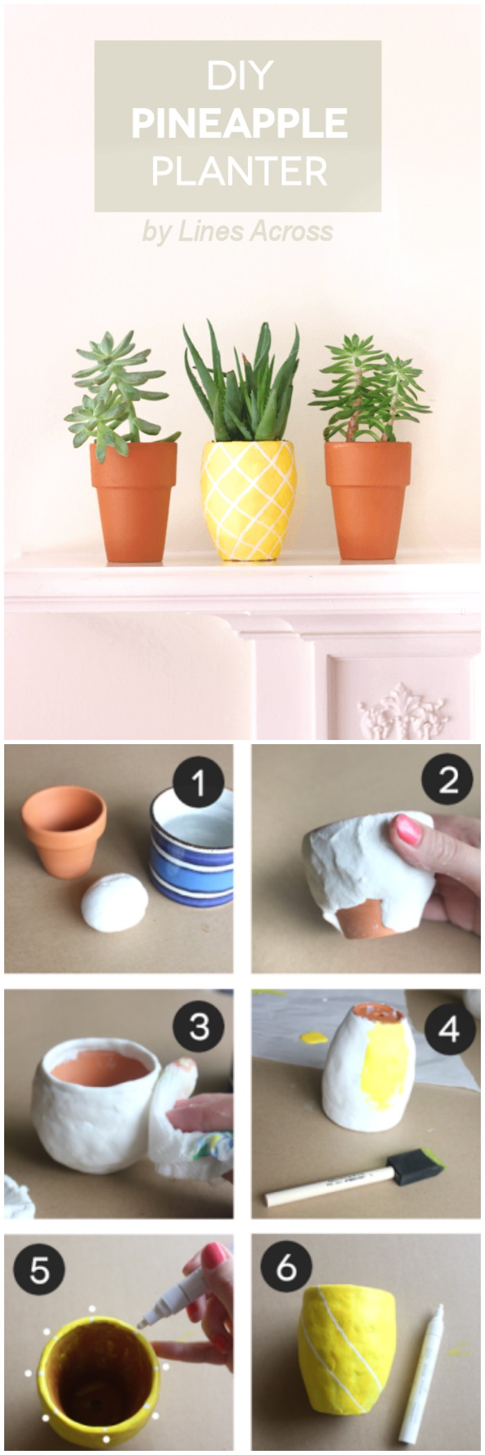 DIY Succulent Pineapple Planter Cheap DIY Projects For Your Home Decoration