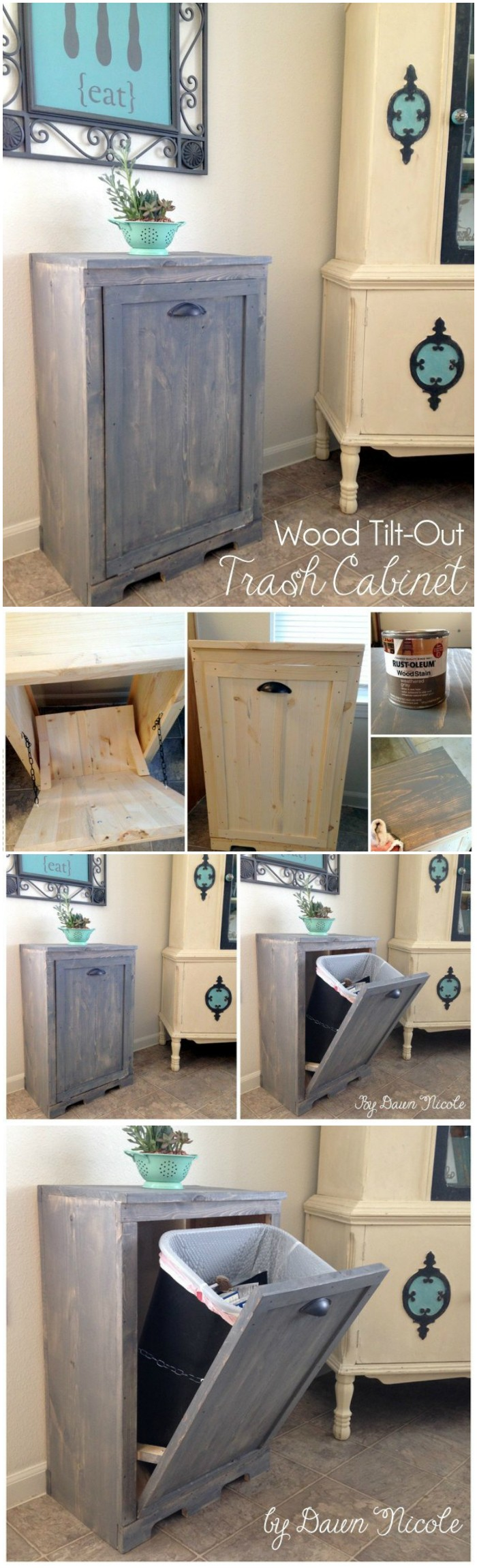 DIY Wooden Cabinet Cheap DIY Projects For Your Home Decoration