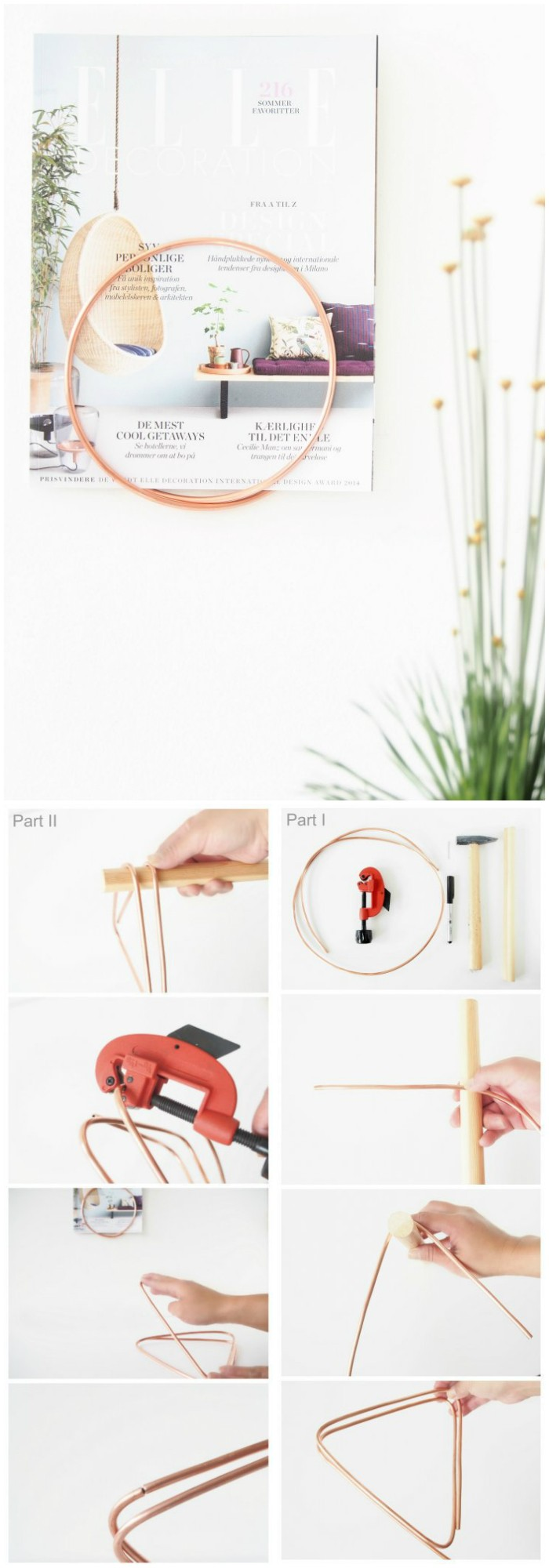 Ring Magazine Holder Cheap DIY Projects For Your Home Decoration