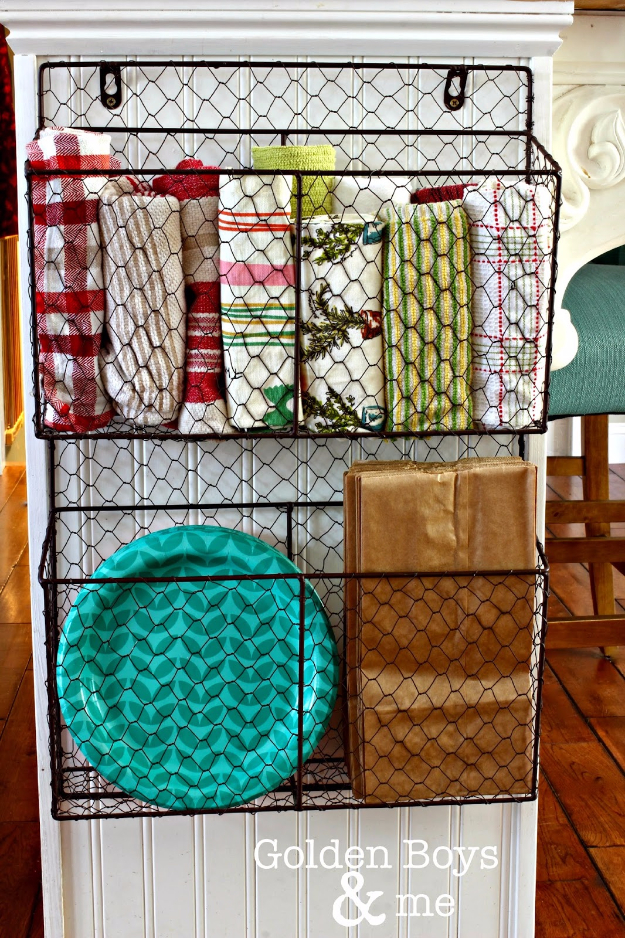 Best Organizing Ideas for the New Year - Wire Baskets To Organize Your Home - Resolutions for Getting Organized - DIY Organizing Projects for Home, Bedroom, Closet, Bath and Kitchen - Easy Ways to Organize Shoes, Clutter, Desk and Closets - DIY Projects and Crafts for Women and Men http://diyjoy.com/best-organizing-ideas