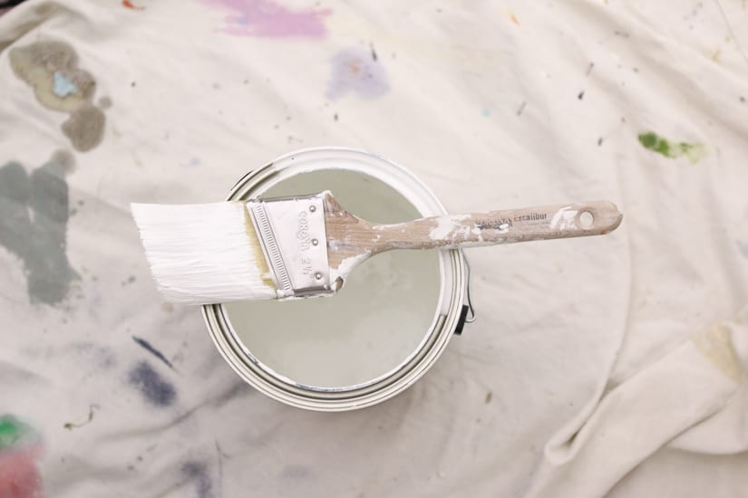 Start to decorate your rental with a fresh coat of paint.