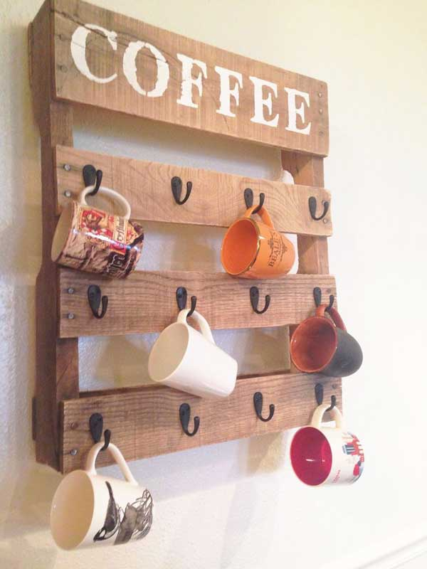 #19 COFFEE CUP STORAGE