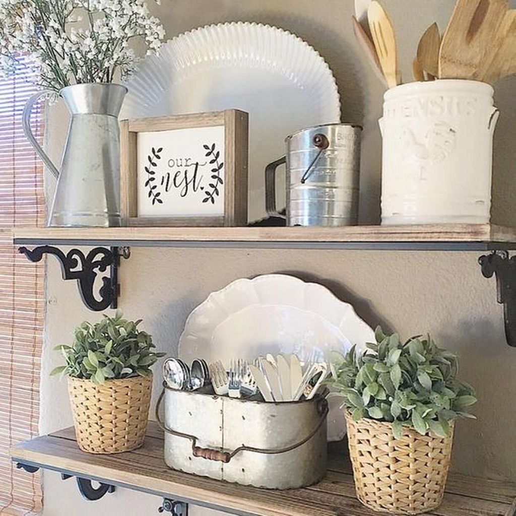 Beautiful Farmhouse Kitchen Decor Ideas 02