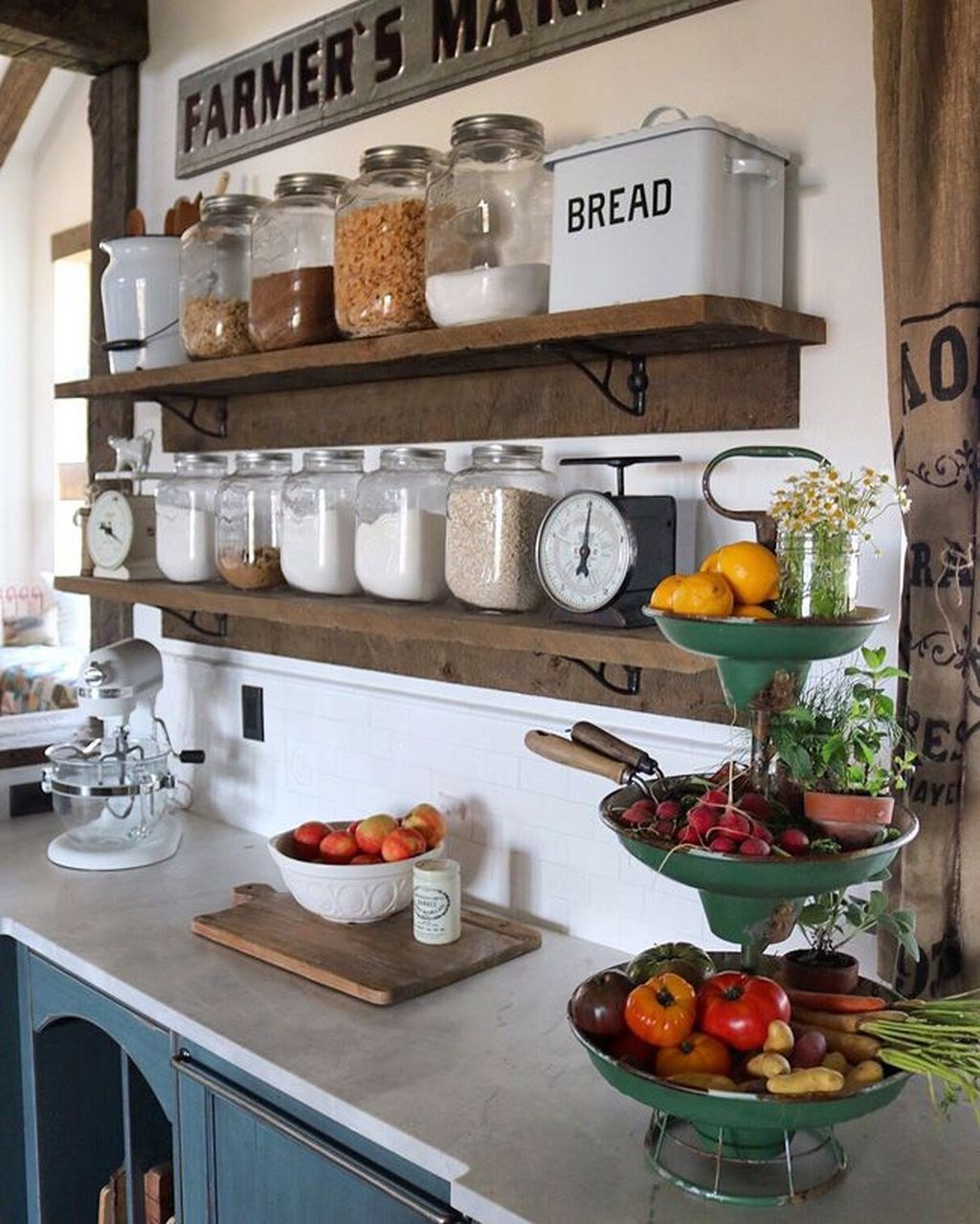Beautiful Farmhouse Kitchen Decor Ideas 03