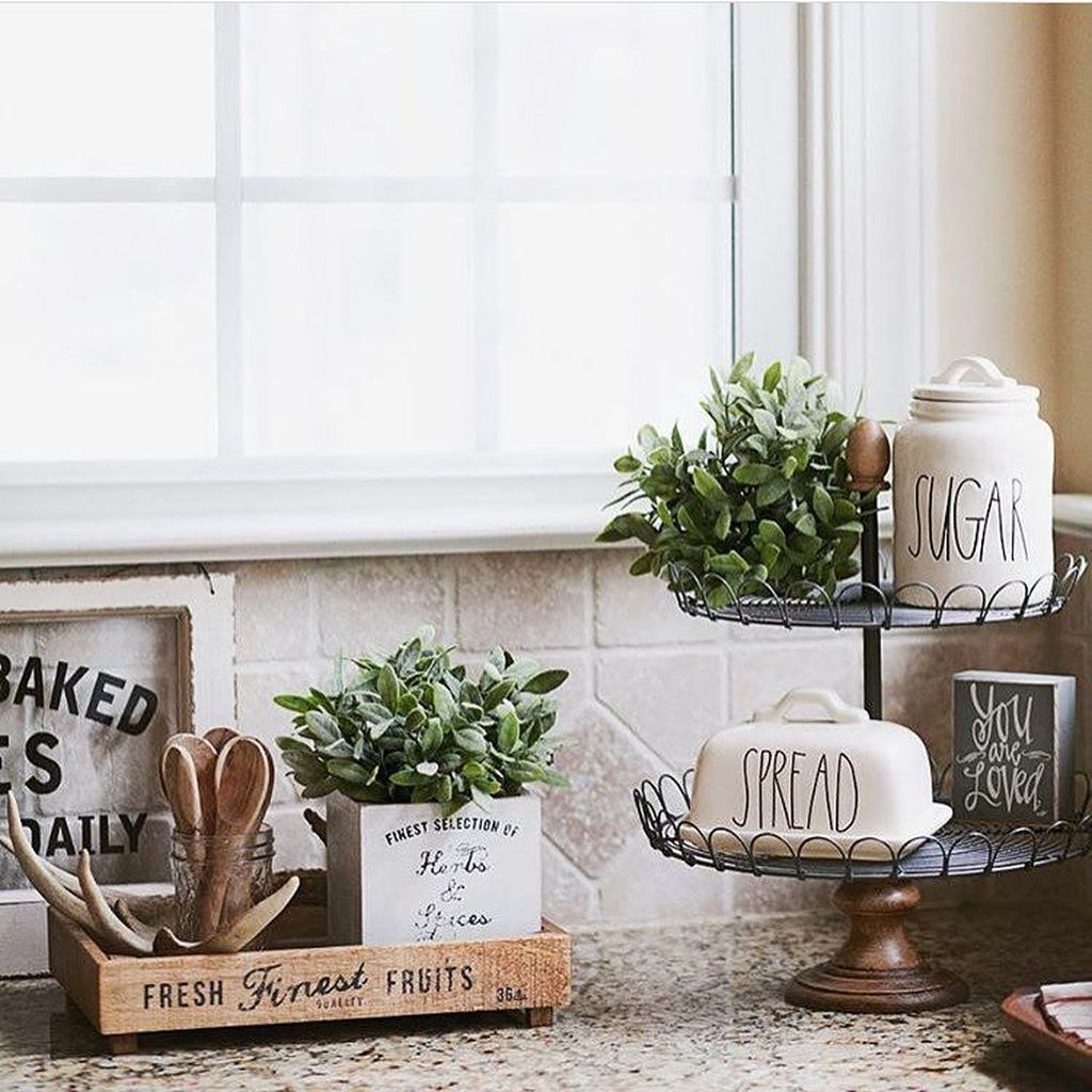 Beautiful Farmhouse Kitchen Decor Ideas 10