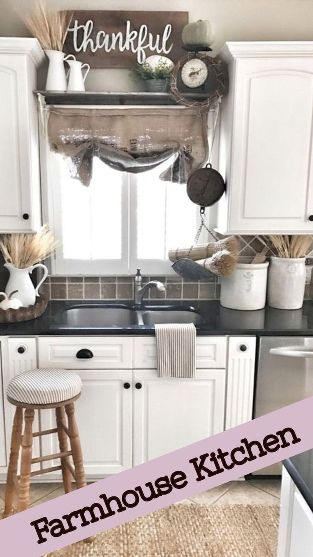 Beautiful Farmhouse Kitchen Decor Ideas 14