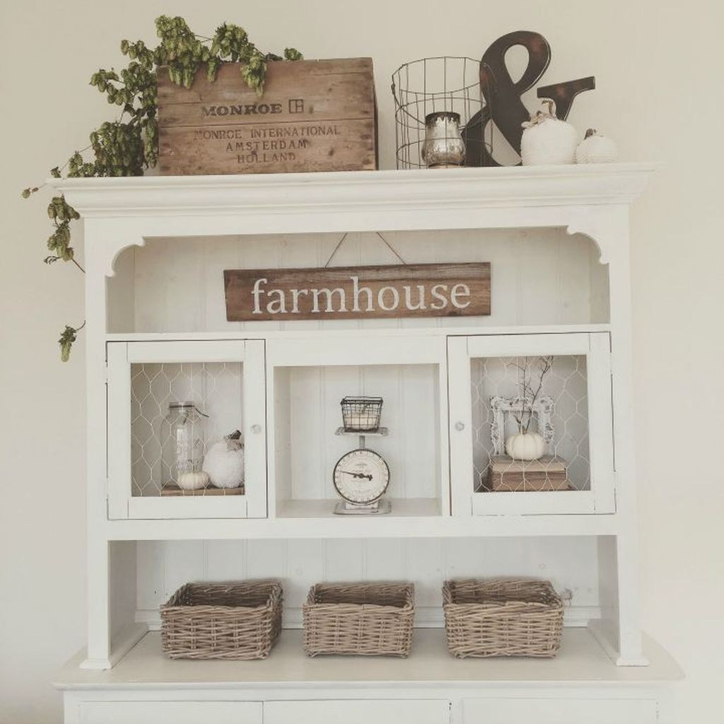 Beautiful Farmhouse Kitchen Decor Ideas 27