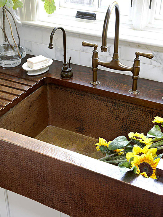 Farmhouse Kitchen Sink Countertop