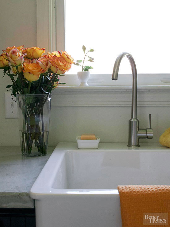 Farmhouse Kitchen Sink Natural Bath