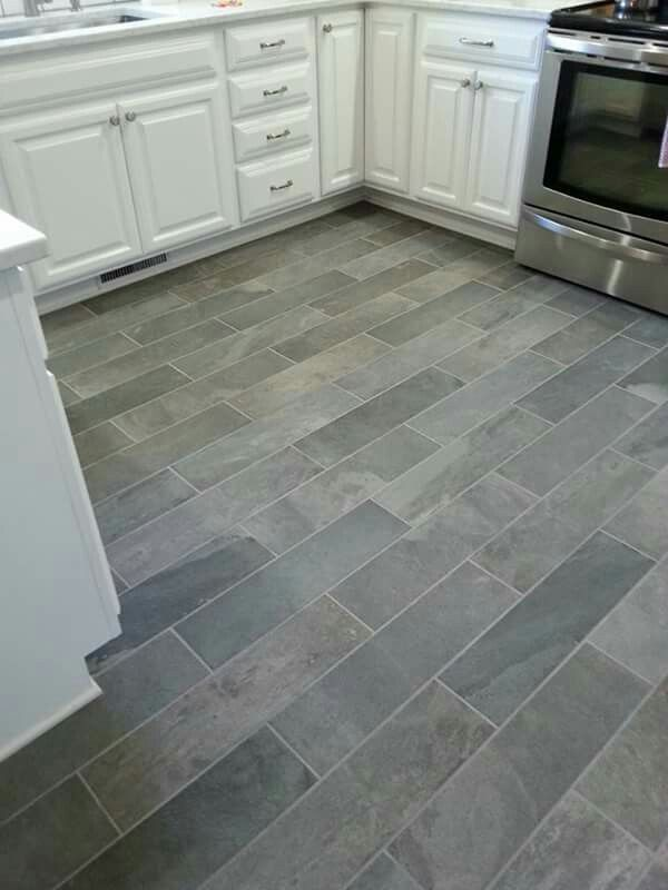 Ivetta Black Slate Porcelain tile from Lowes