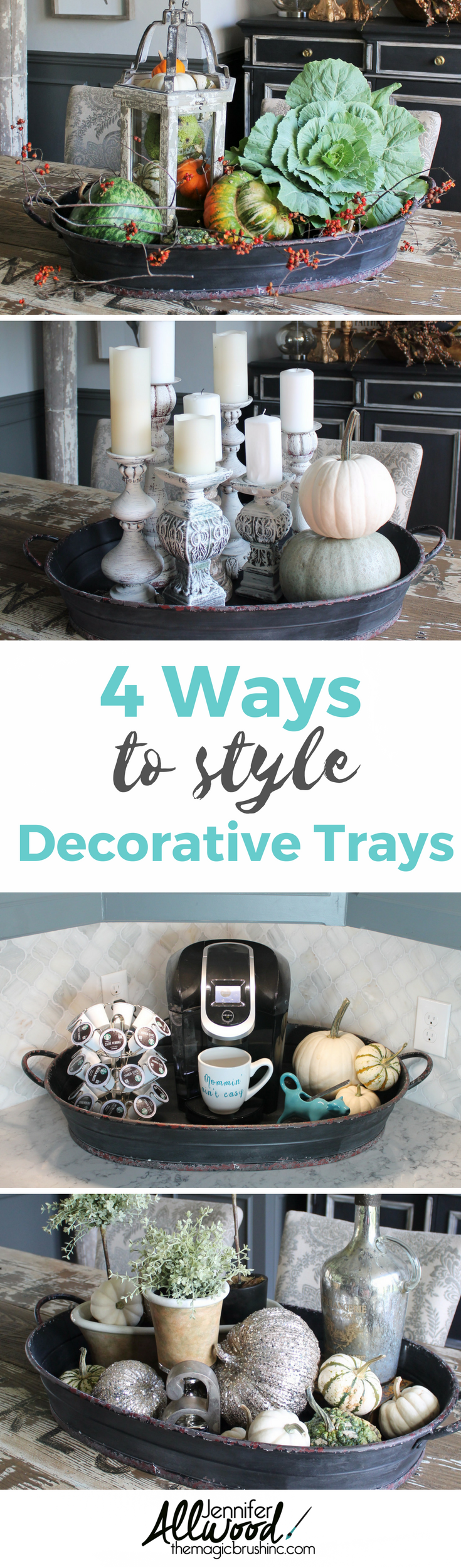 MagicBrush Tray Decor Ideas