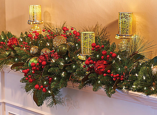 christmas-mantel-garland-548218