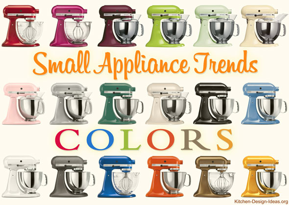 KitchenAid produces mixers in well over a dozen different colors
