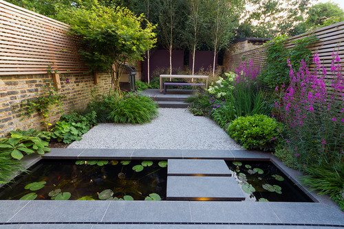 Private garden designed by John Davies