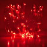 red led fairy lights