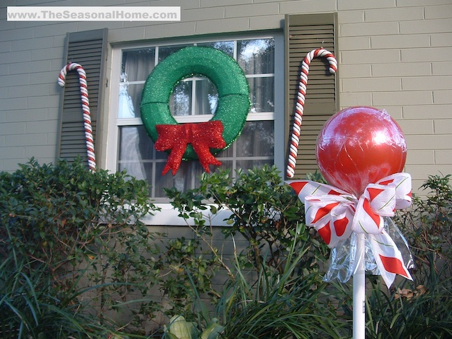 How to make Giant Outdoor Lollipops