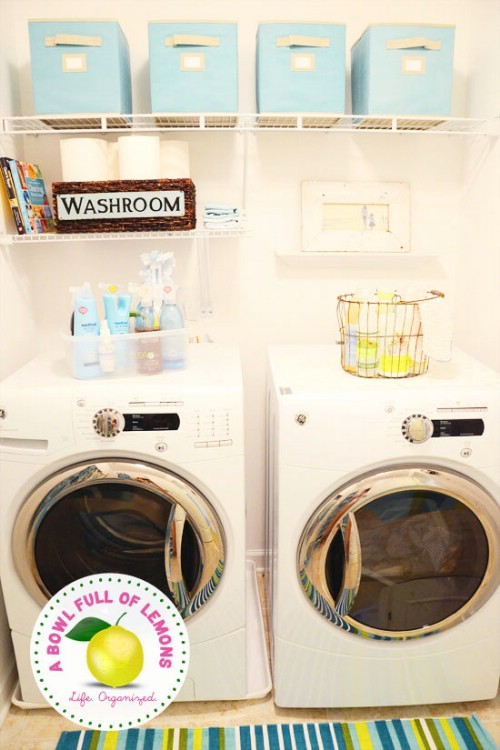 Laundry Room Organization that Saves Time - 150 Dollar Store Organizing Ideas and Projects for the Entire Home