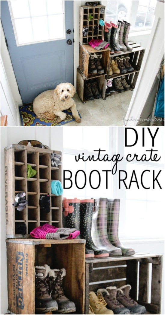Mud Room Rack