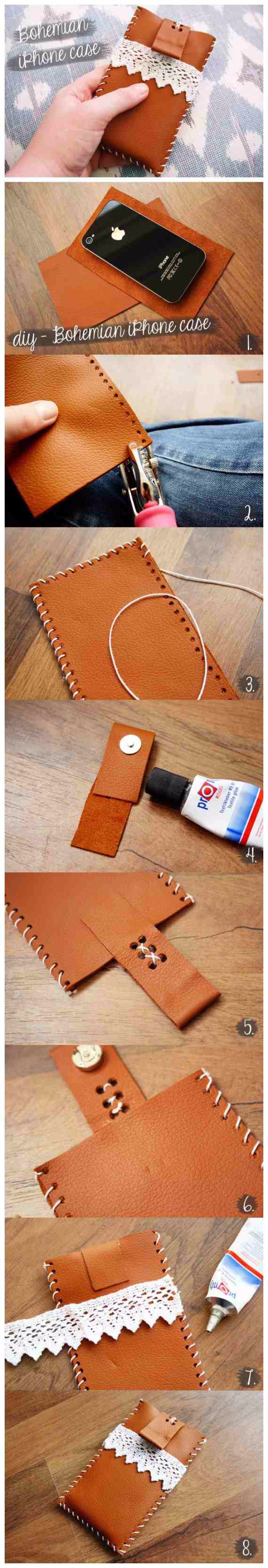 Best DIY Gifts for Girls - Bohemian Style Iphone Case - Cute Crafts and DIY Projects that Make Cool DYI Gift Ideas for Young and Older Girls, Teens and Teenagers - Awesome Room and Home Decor for Bedroom, Fashion, Jewelry and Hair Accessories - Cheap Craft Projects To Make For a Girl for Christmas Presents http://diyjoy.com/diy-gifts-for-girls