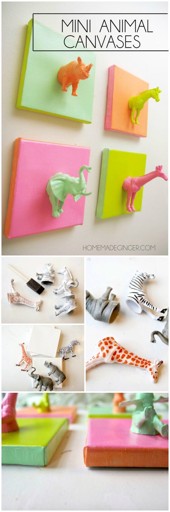 DIY Canvas Art Cheap DIY Projects For Your Home Decoration