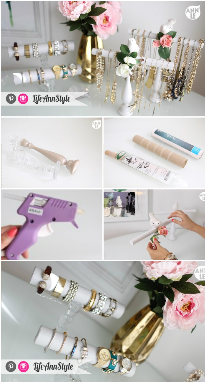 DIY Necklace and Bracelet Holder Cheap DIY Projects For Your Home Decoration