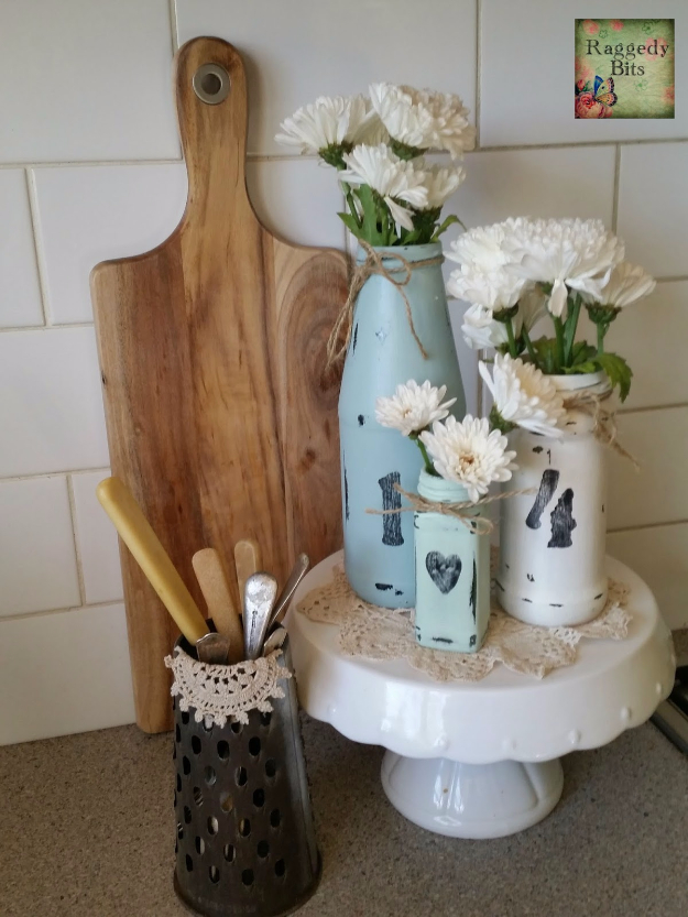41 Easiest DIY Projects Ever - DIY Quick Easy Homey Vases - Easy DIY Crafts and Projects - Simple Craft Ideas for Beginners, Cool Crafts To Make and Sell, Simple Home Decor, Fast DIY Gifts, Cheap and Quick Project Tutorials http://diyjoy.com/easy-diy-projects