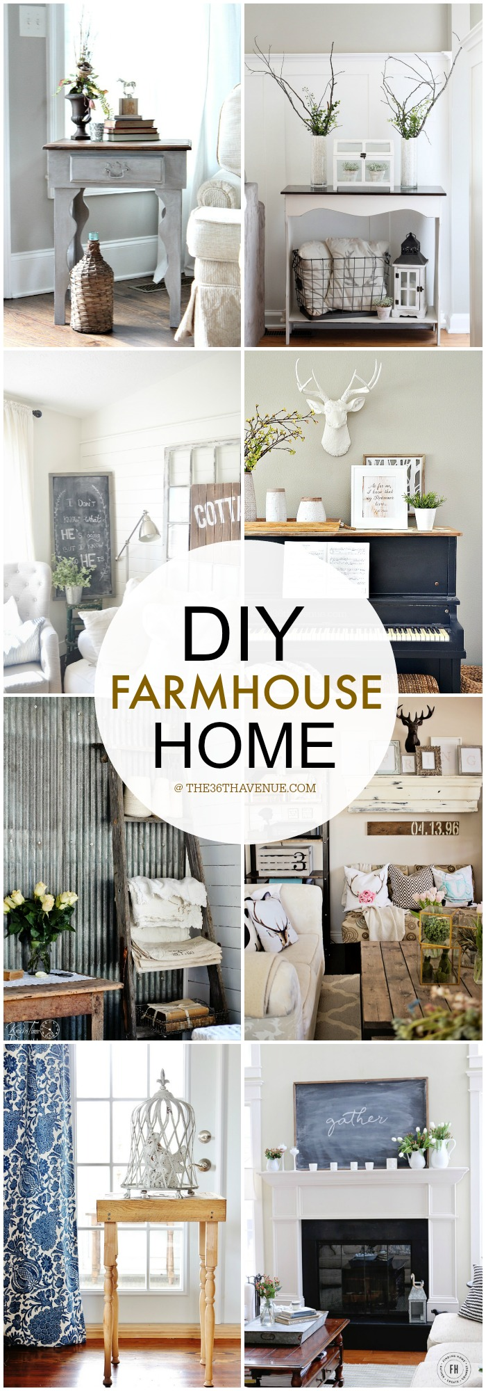 HOME DECOR DIY at the36thavenue.com #farmhouse