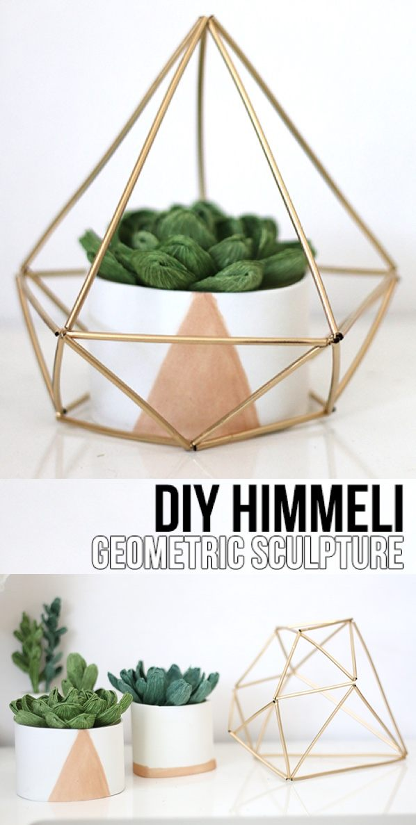 Himmeli Geometric Sculpture