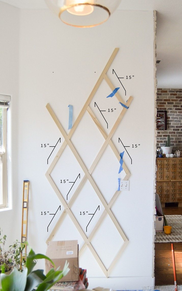 Indoor Plant Trellis Wall Measurements