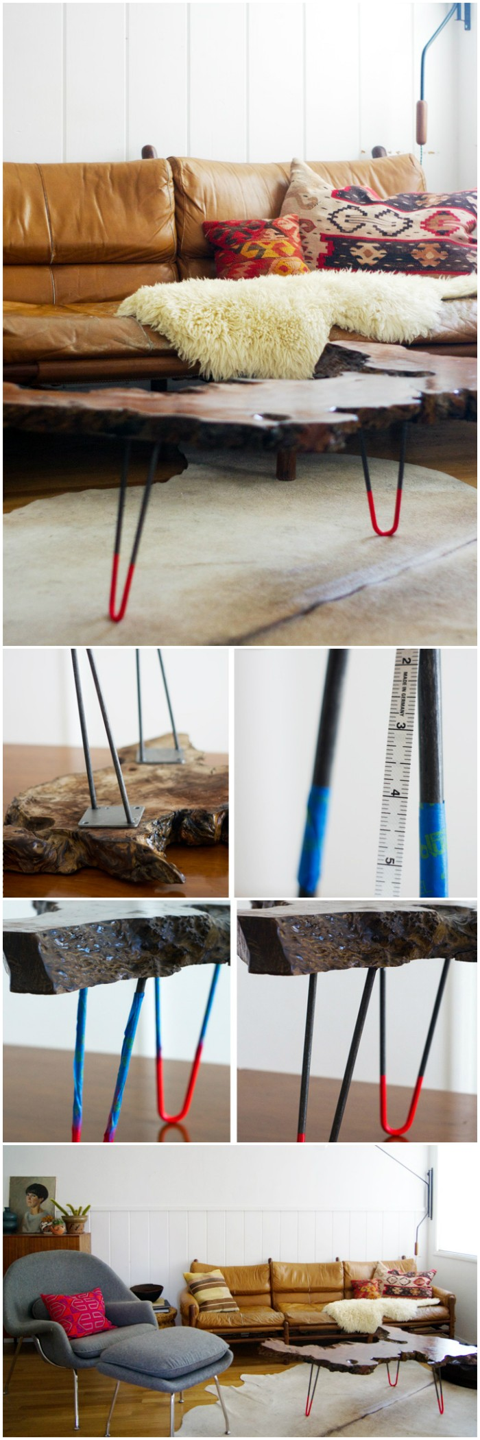 Unique Neon Table Cheap DIY Projects For Your Home Decoration