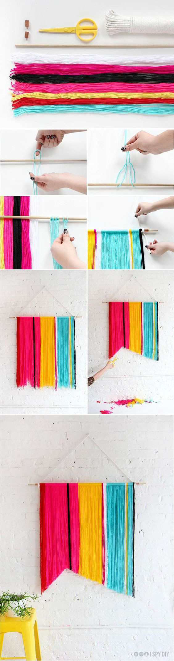 yarn-wall-hanging