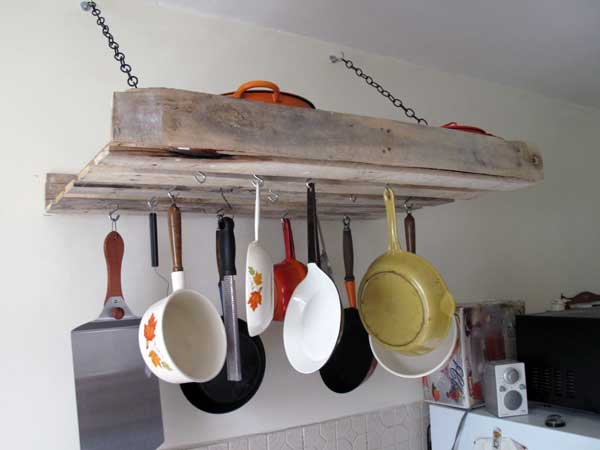 #2 CREATE A DRYER SHELF IN THE KITCHEN