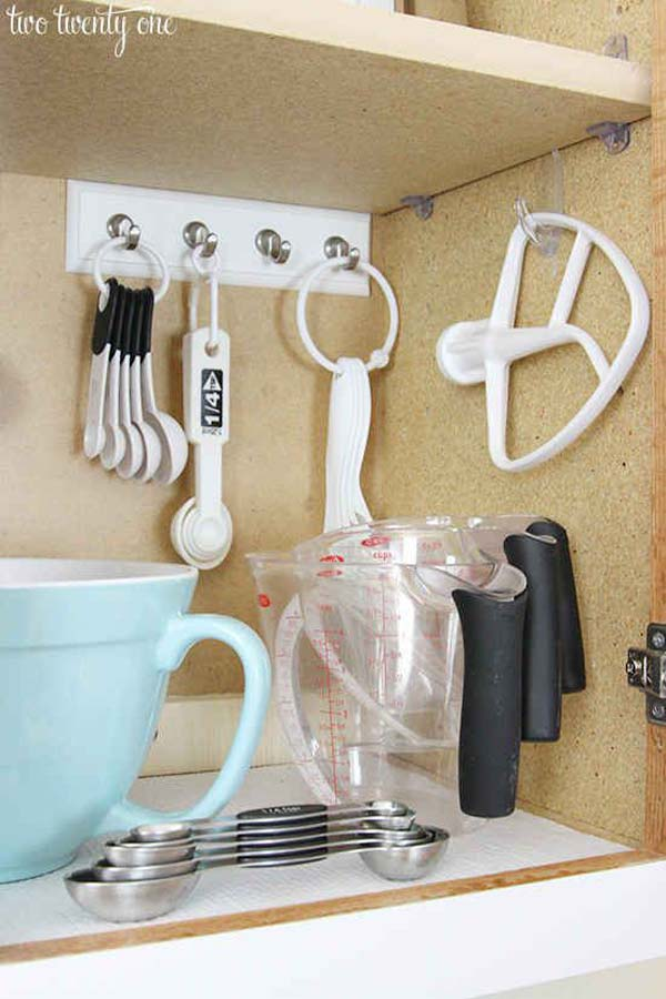34 Super Epic Small Kitchen Hacks For Your Household homesthetics decor (22)