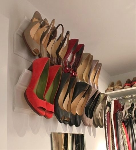 50 Genius Storage Ideas (all very cheap and easy!) Great for organizing and small houses.