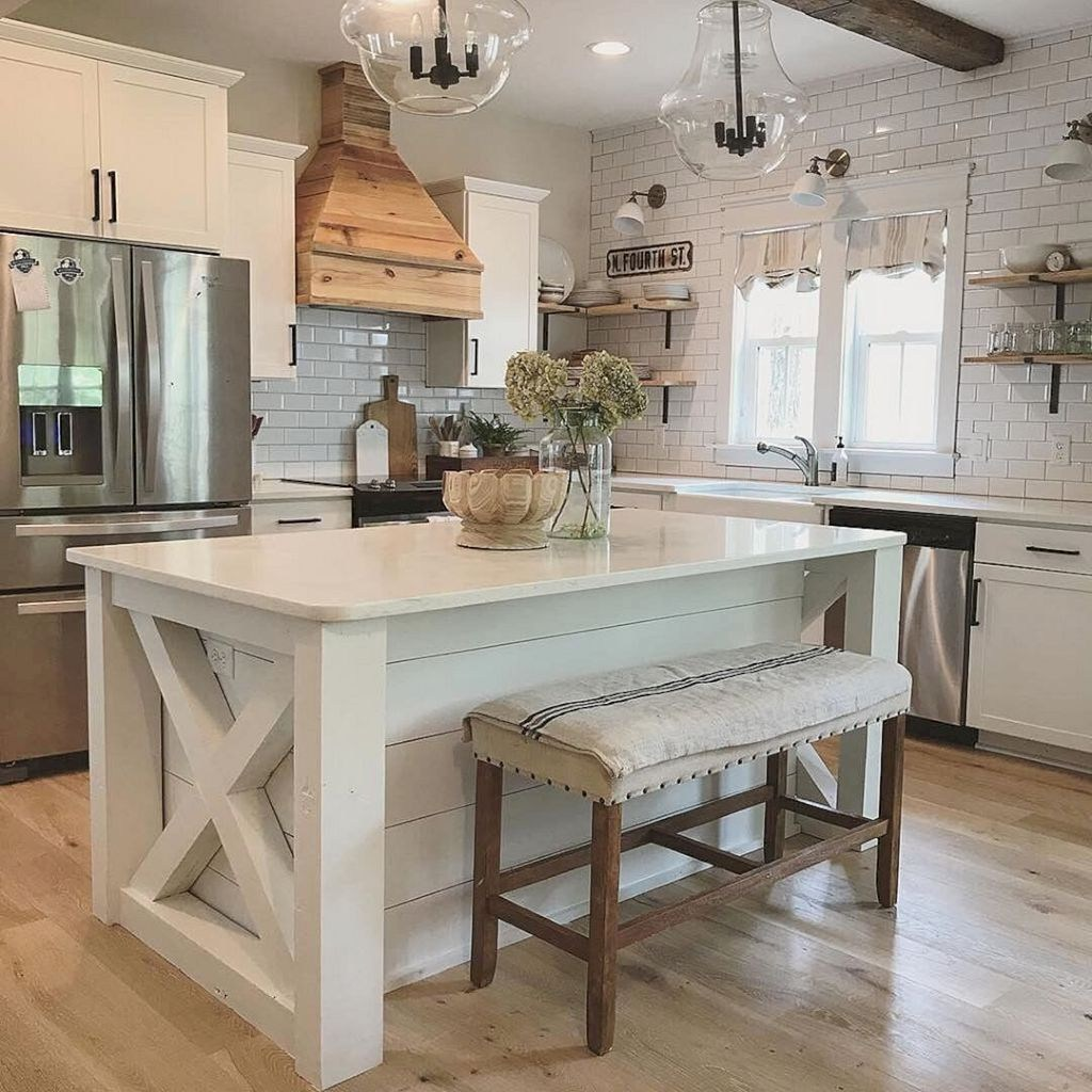 Beautiful Farmhouse Kitchen Decor Ideas 17