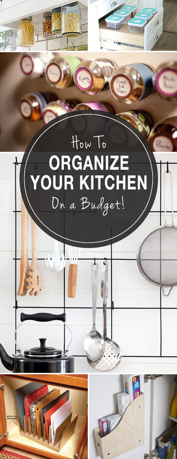 How to Organize Your Kitchen On A Budget-25