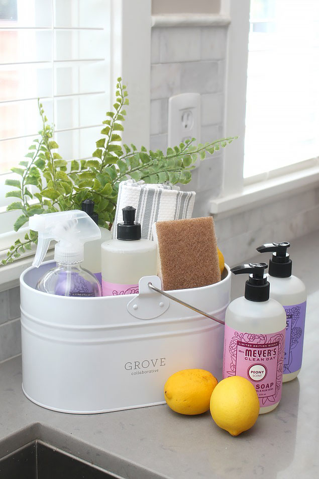 Spring cleaning tips and the best spring cleaning supplies.