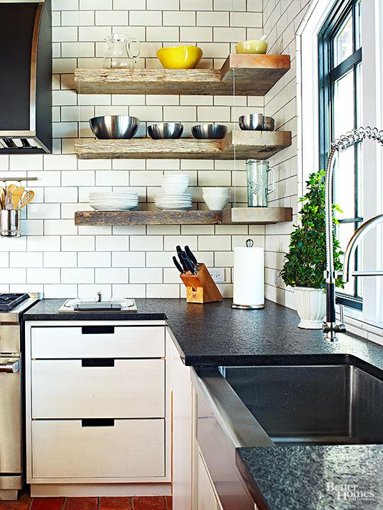 Utilitirian Farmhouse Kitchen